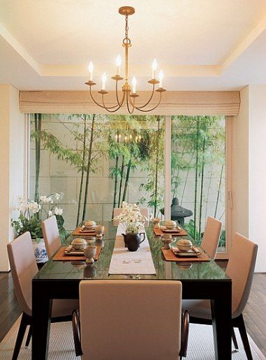Korean Contemporary Dining Room Interiors Asian Home Decor