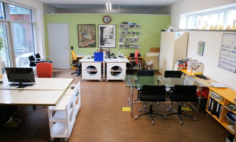 Arbeitsplatz In Architekten Burogemeinschaft Burogemeinschaft Architekt Buero