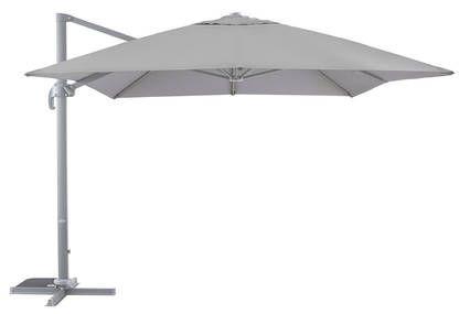 Parasol Déporté Blooma Jaya Gris ø300 Cm Patio Outdoor