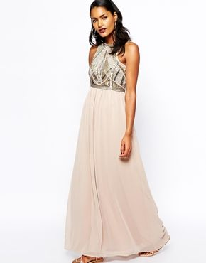River Island Embellished Top Maxi Dress Wedding Island Dress Guest