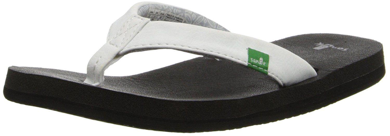 Sanuk Womens Yoga Zen Flip Flop Ultra Comfy Flip-Flop With Real Yoga Mat Rubber Insole Women -9156