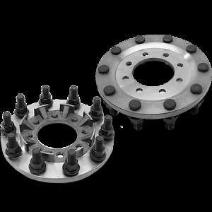 Steel 8 To 10 Lug Dually Wheel Adapters Chevy 3500 Dodge Ram 3500 Ford F350 450 Dodge Ram 3500 Dodge Ram Dually Wheels