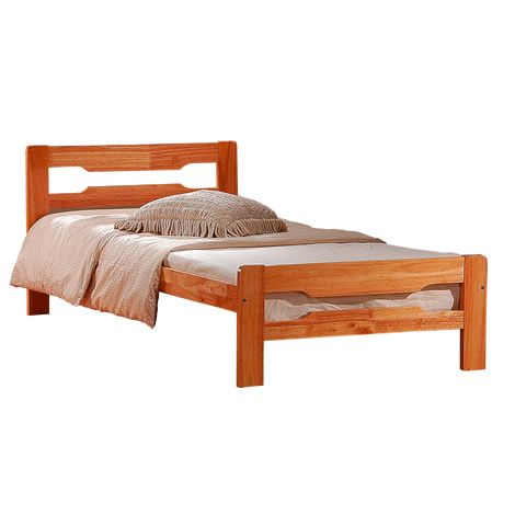Amelia Solid Wood Single Bed Frame A Single Bed Frame Wooden