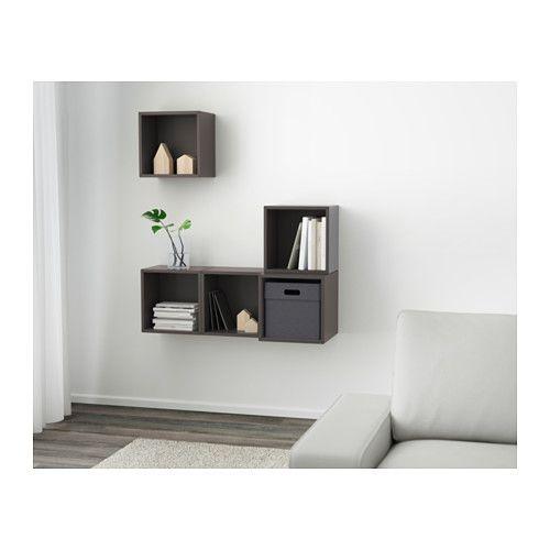 EKET Kastencombinatie Voor Wandmontage   Donkergrijs   IKEA