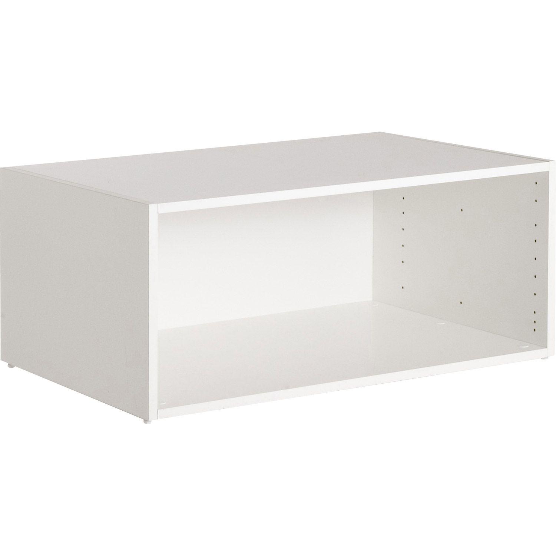 casier 60x56x35 leroy merlin 34 € existe en largeur 40 ou 80   Meuble rangement, Rangement ...