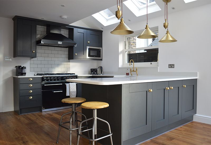 Kitchen Inspiration - Trenton Shaker Kitchen in Graphite | Cegin ...