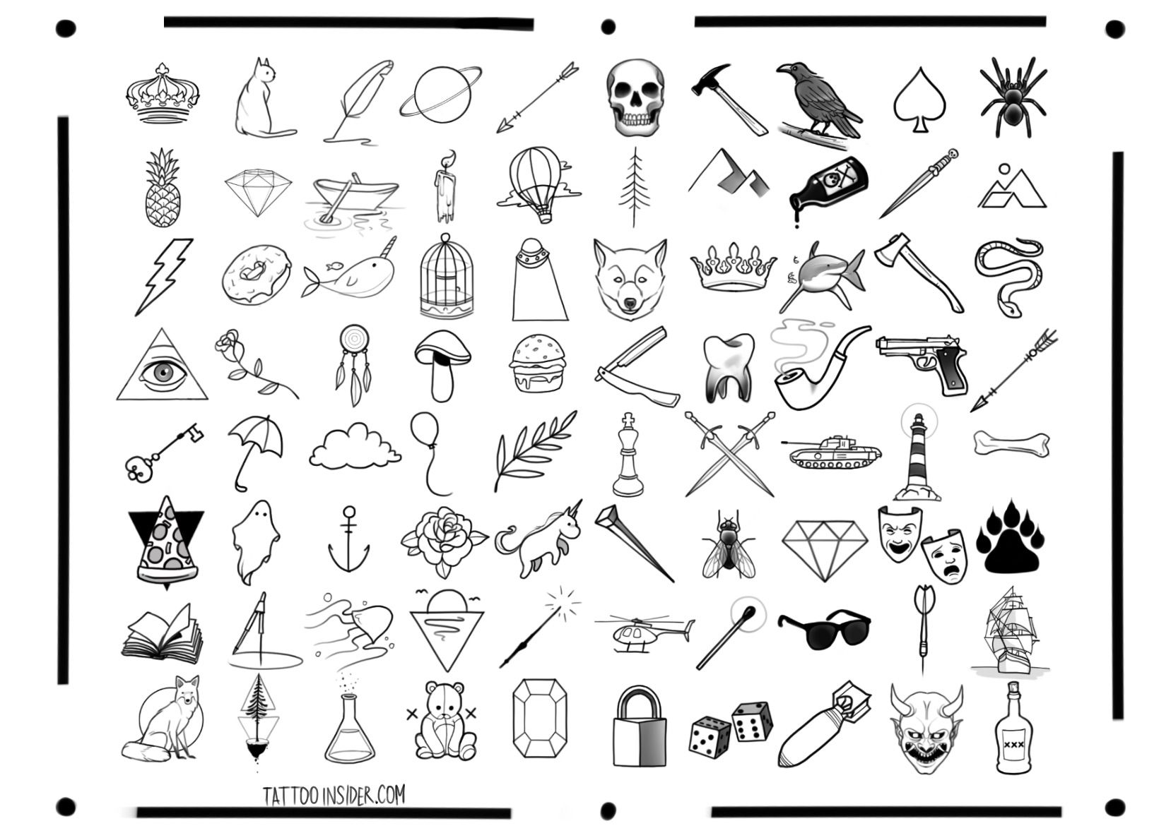 80 Free Small Tattoo Designs (With Images)