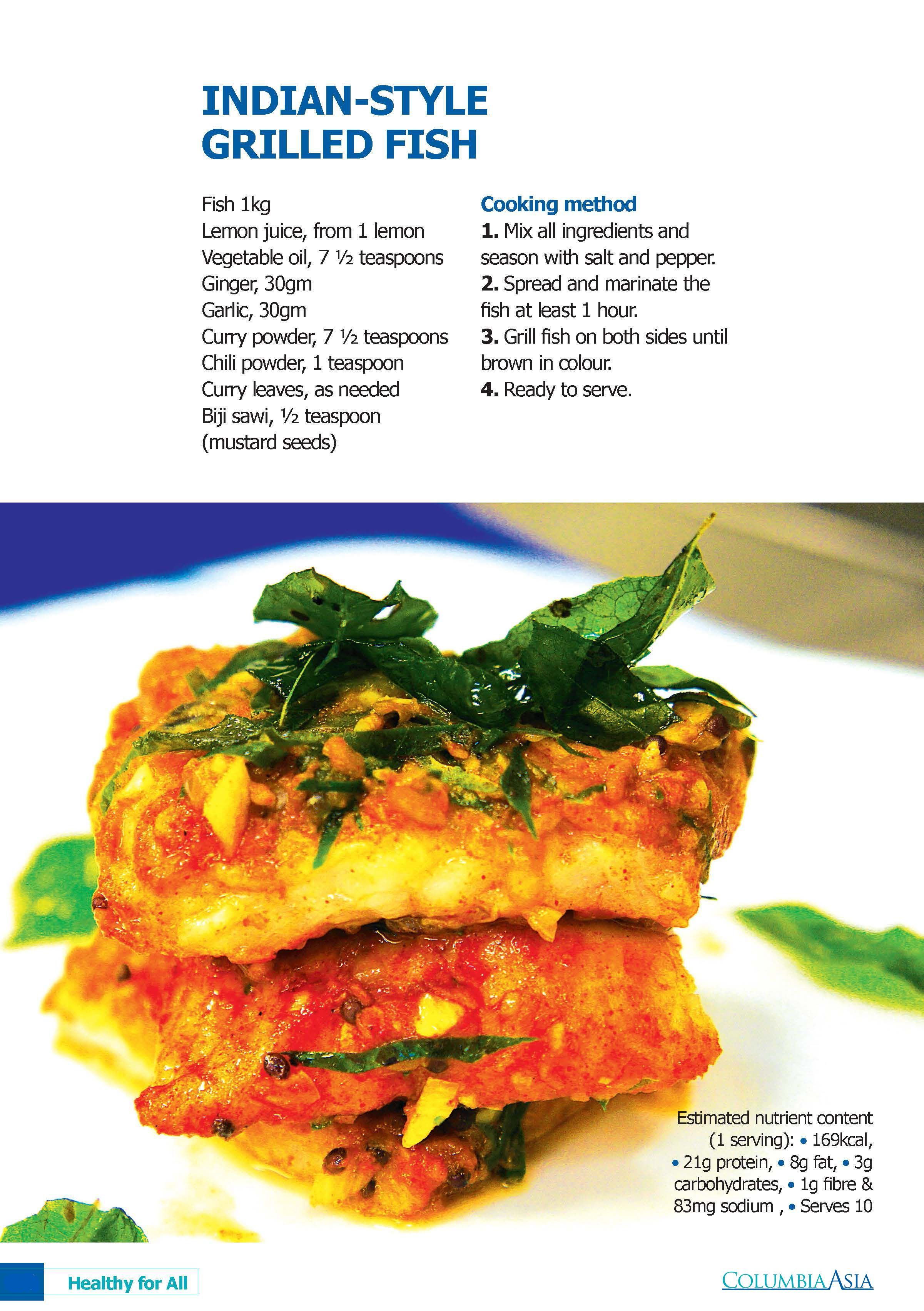 Craving For Something Spicy Try This Healthy Fish Recipe Indian