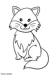 Disegni Di Volpi Da Colorare Foxes Coloring Coloringinspiration Coloringpages Disegno Volpe Volpe Disegni