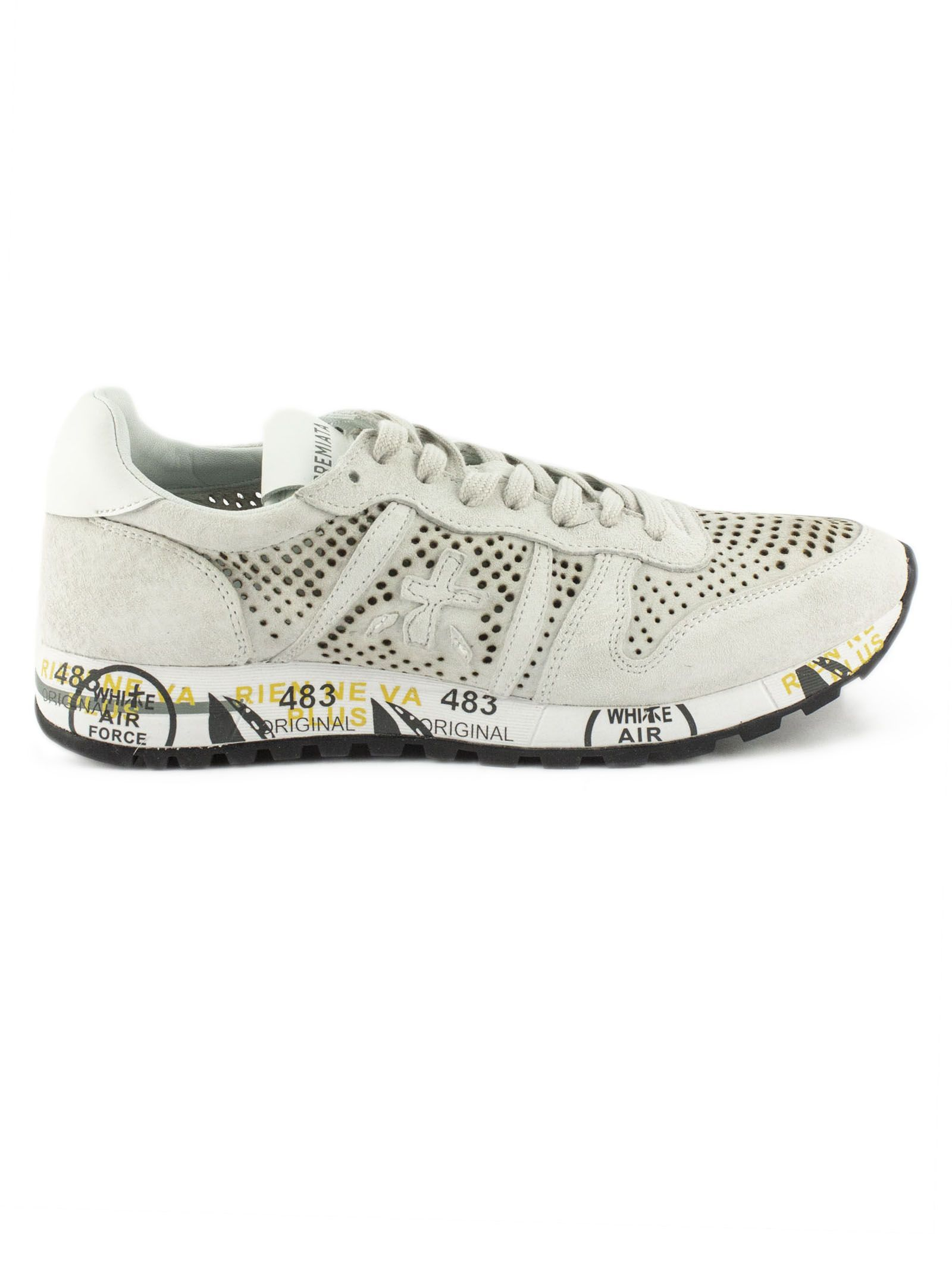 Sneaker Upperpremiatashoes Premiata In Eric Beige Suede 9DHIYEW2