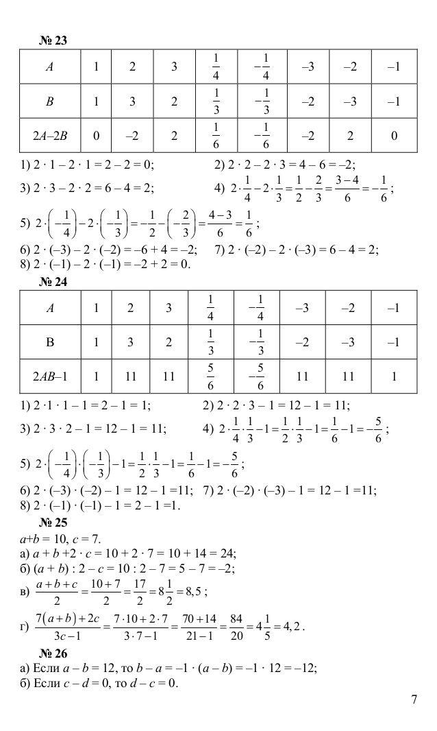 Готовые домашние задания 3класс