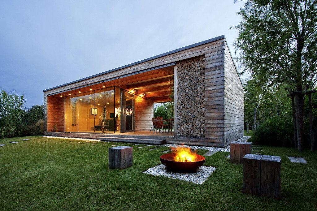desain rumah sederhana dengan model kayu