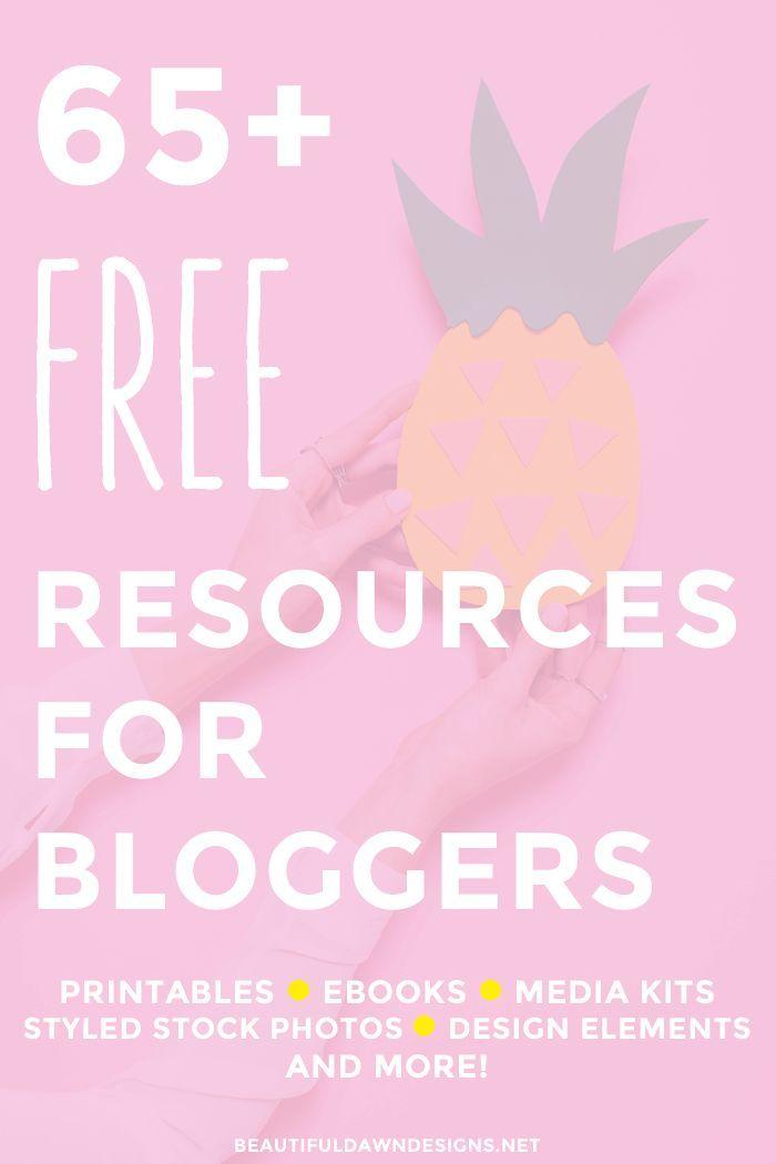 Free Blogging Resources - Beautiful Dawn Designs