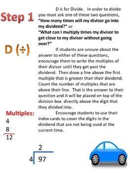 Division basics.