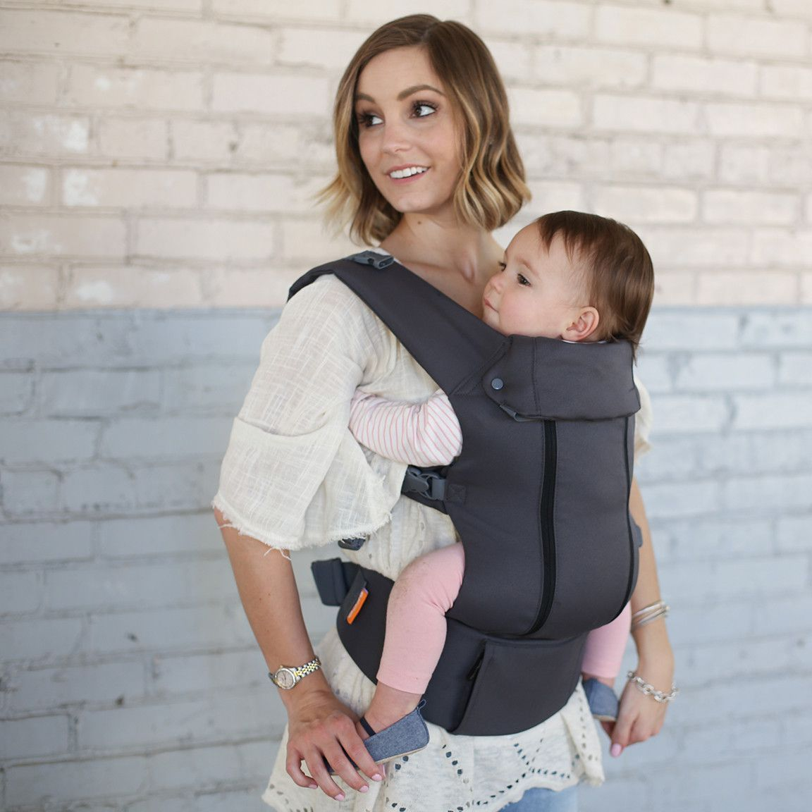 Grey Cool Cotton Beco 8 Baby Carriers