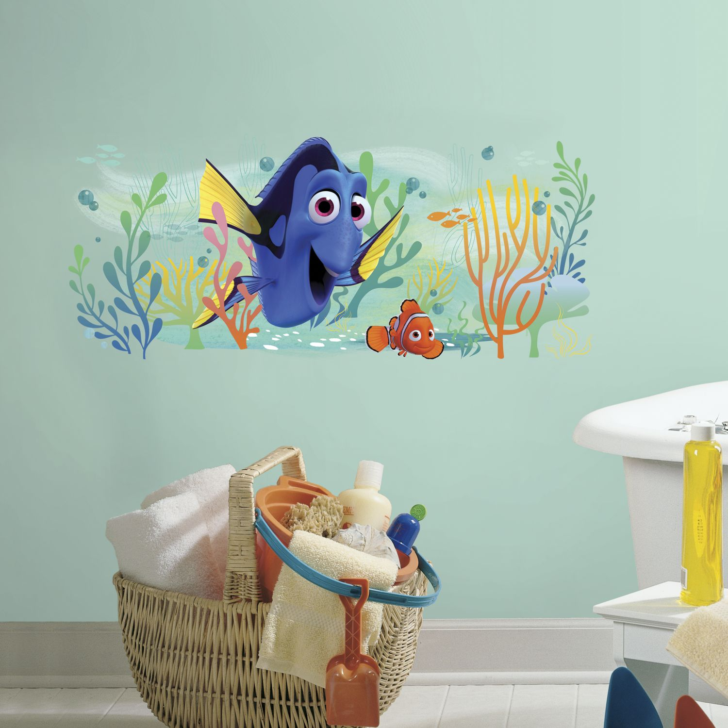 Attractive Finding Nemo Wall Stickers For Kids