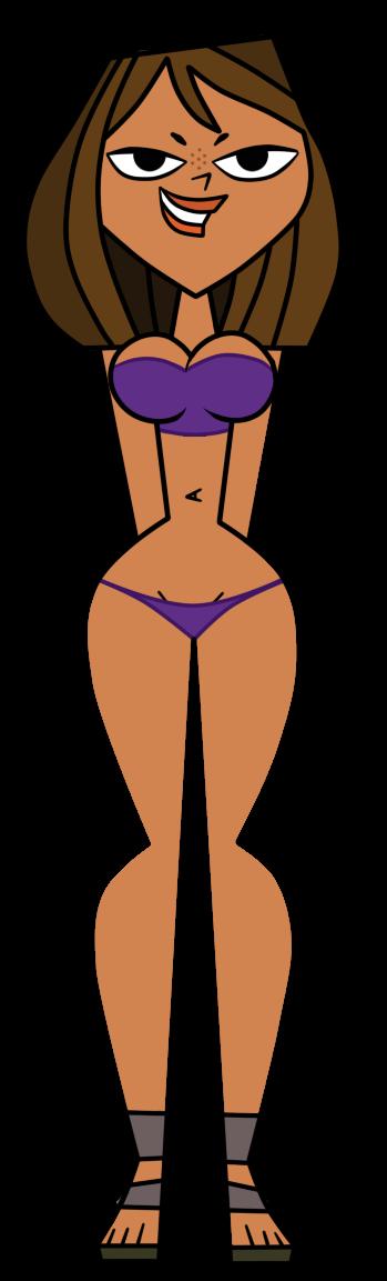 Courtneys Blue Bikini - Vector by EvaHeartsArt on