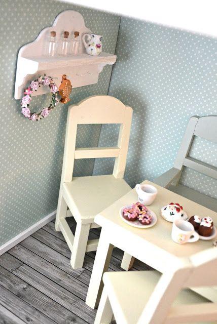 Beautiful little life♥~ Shabby Chic Miniatures #shabbychic