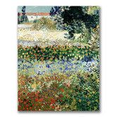 """Found it at Wayfair - """"Garden in Bloom"""" by Vincent Van Gogh Painting Print on Canvas"""