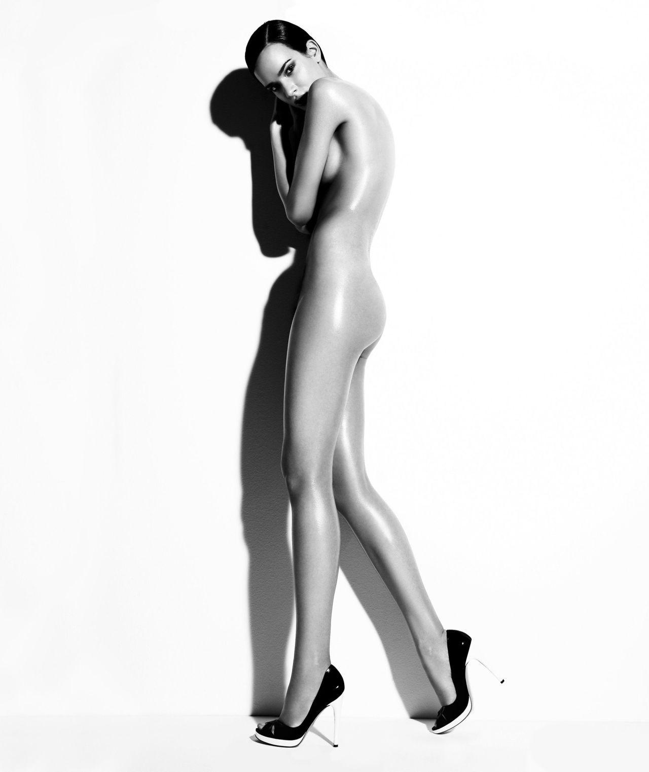 workout Nude leg