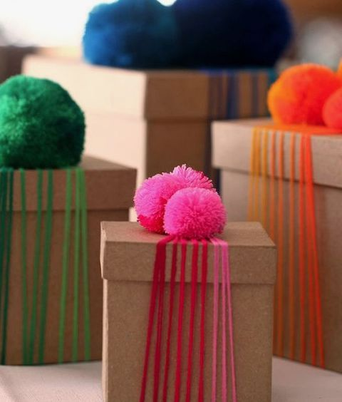 9 exquisite wrapping ideas #gifts