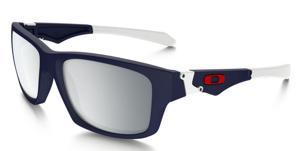1fda03f9128 Oakley Jupiter Squared Sunglasses OO9135-02 Matte Navy Frame Chrome Iridium  Lens