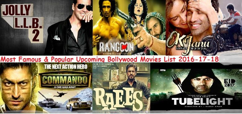 Upcoming Bollywood Movies List Julyaugust 2017 2018 Recently