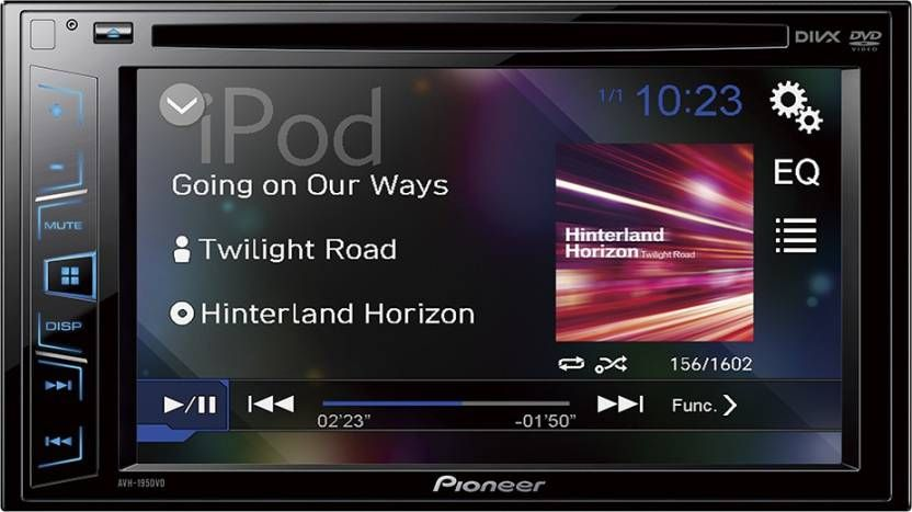 Pioneer Music System Pioneer Avh 199dvd Car Stereo Double Din Digital Multimedia Touch Screen Car Stereo Car Stereo