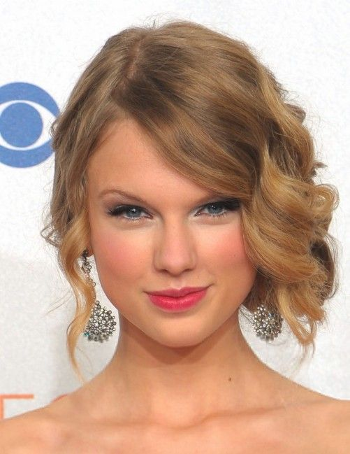 Some Great Side Swept Curly Updos You May Love