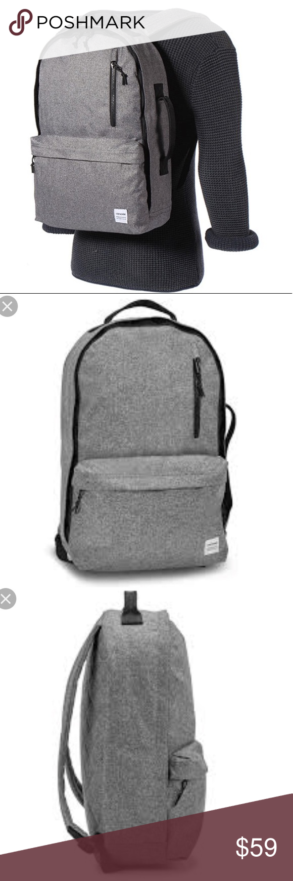NWTConverse Original Backpack Charcoal Grey Unisex Brand new with tag.  Price is firm! No 319959b7aca46