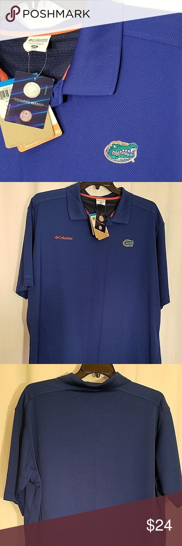 Uf Florida Gators Polo Shirt Men Xxl Women 2x Nwt My Posh Closet