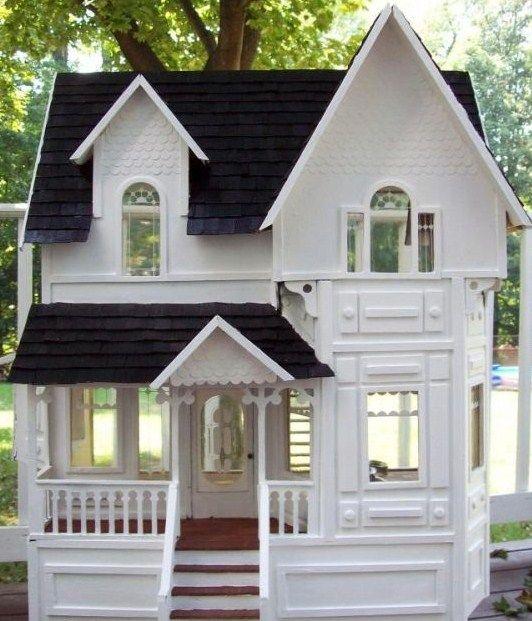 ڿڰۣ(̆̃̃•Aussiegirl #Garden #Sheds Amazing Dollhouse