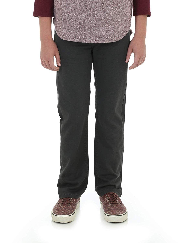 Boys slim fit jeans active flex fabrics dark gray size