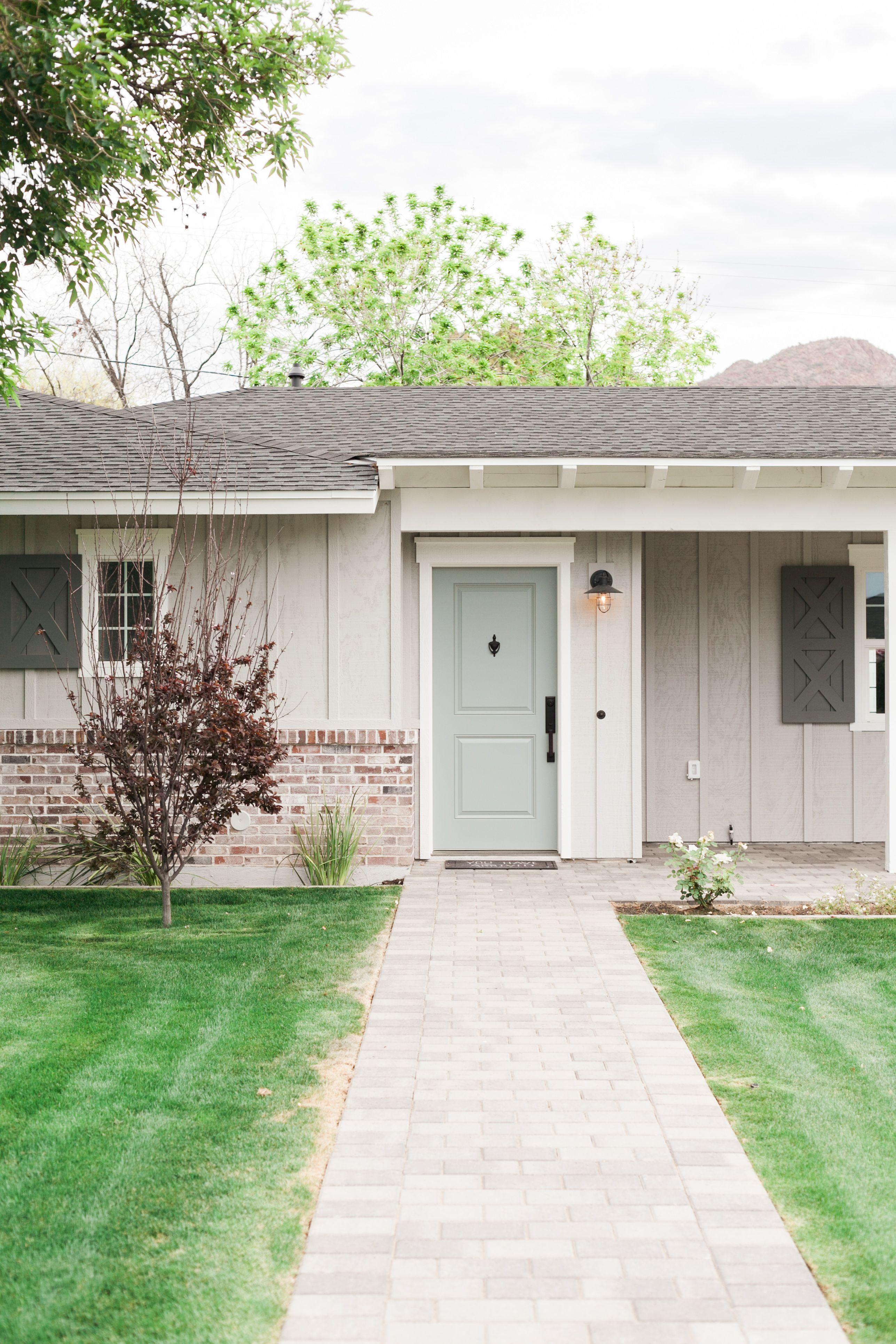 Exterior paint schemes ranch style - Best 25 Ranch Exterior Ideas On Pinterest Ranch Homes Exterior Brick Exterior Makeover And Home Exterior Makeover