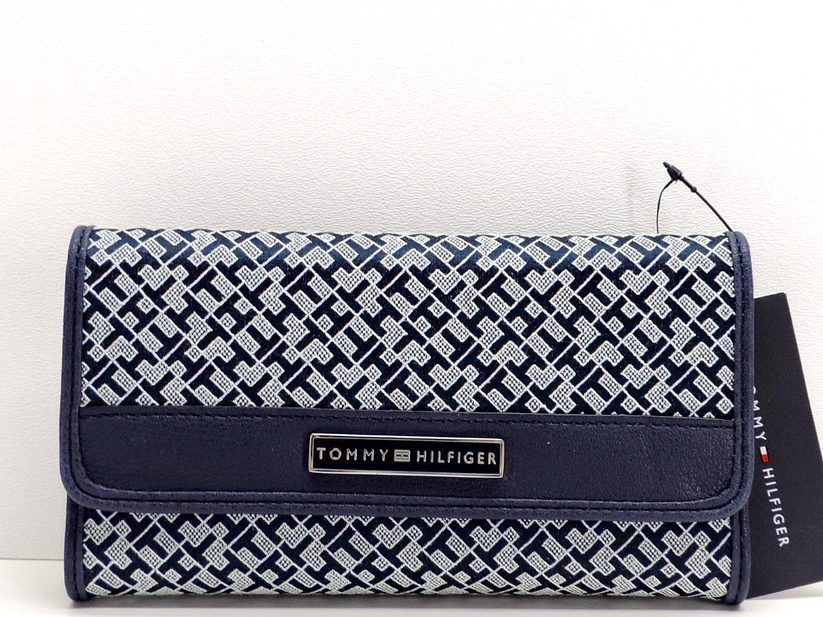 12fe9acfc7 Tommy Hilfiger Womens Wallet (Blue and white) | Tommy Hilfiger ...