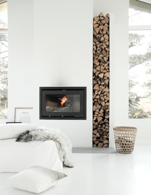 Bient t l 39 hiver se chauffer au po le a bois salons foyers and architecture - Se chauffer au bois ...