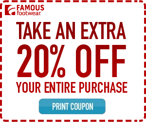 20 off famous footwear coupon valid until june 17th see more 20 off famous footwear coupon valid until june 17th see more at ourfrugalfamily fandeluxe Gallery