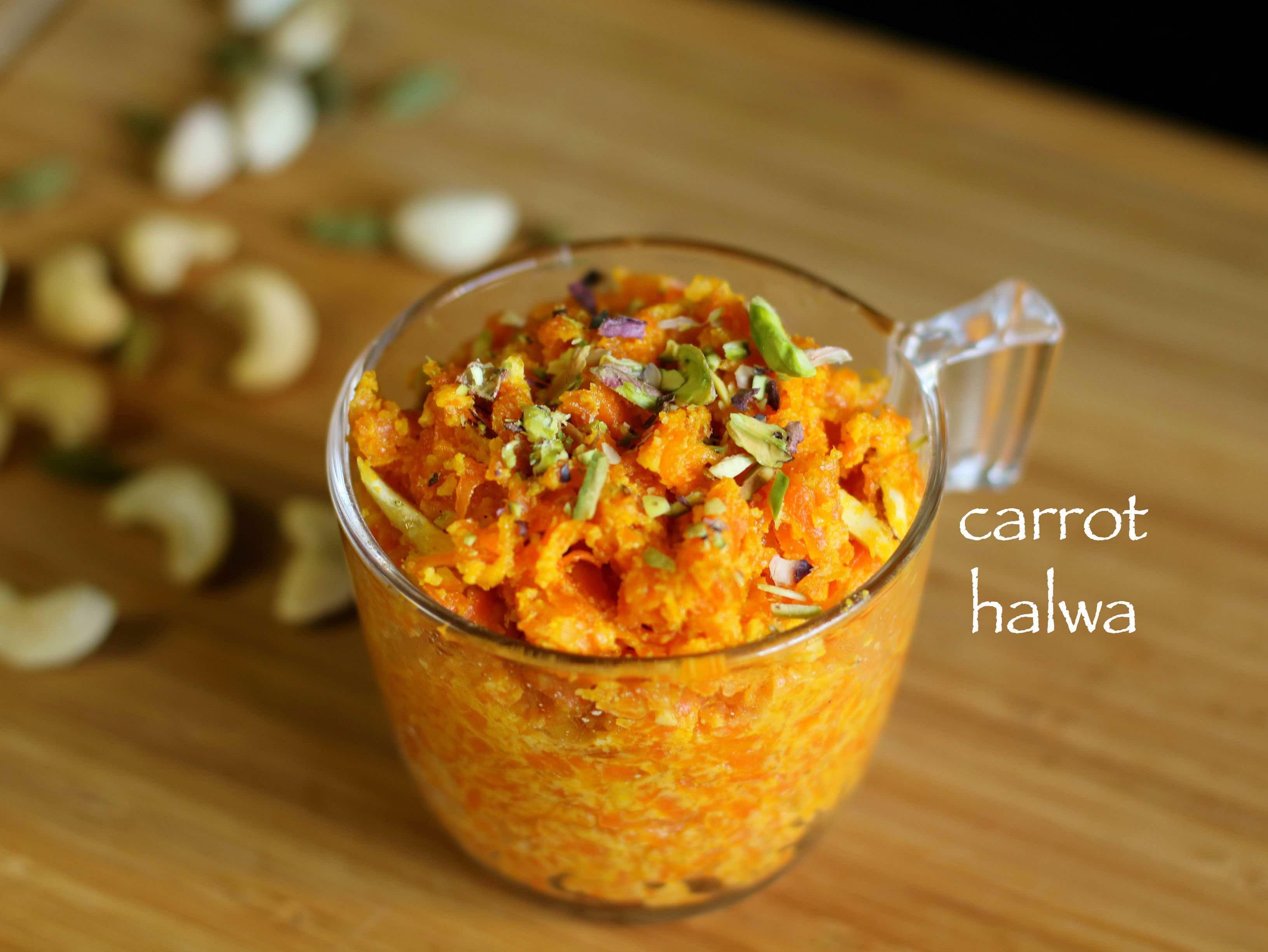 Gajar Ka Halwa Recipe With Condensed Milk Carrot Halwa Recipe With Milkmaid Recipe Carrot Halwa Recipe Gajar Ka Halwa Condensed Milk Recipes