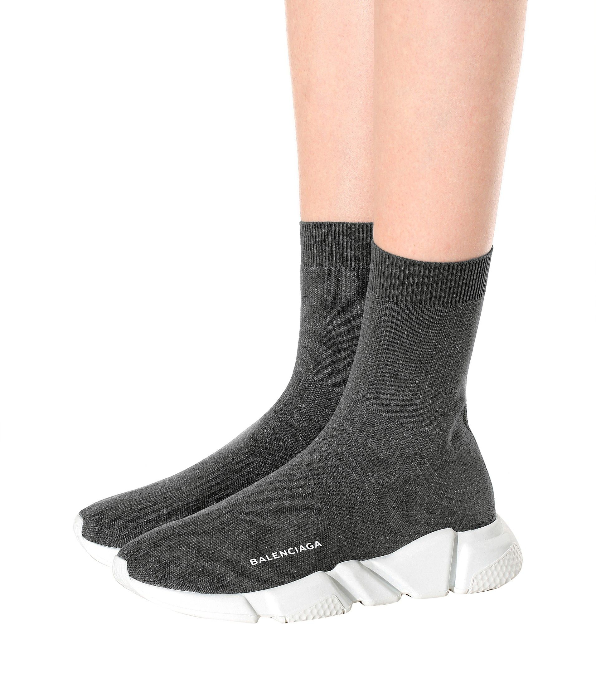 38ad4c86be6f Balenciaga Dark grey Speed Trainer sneakers