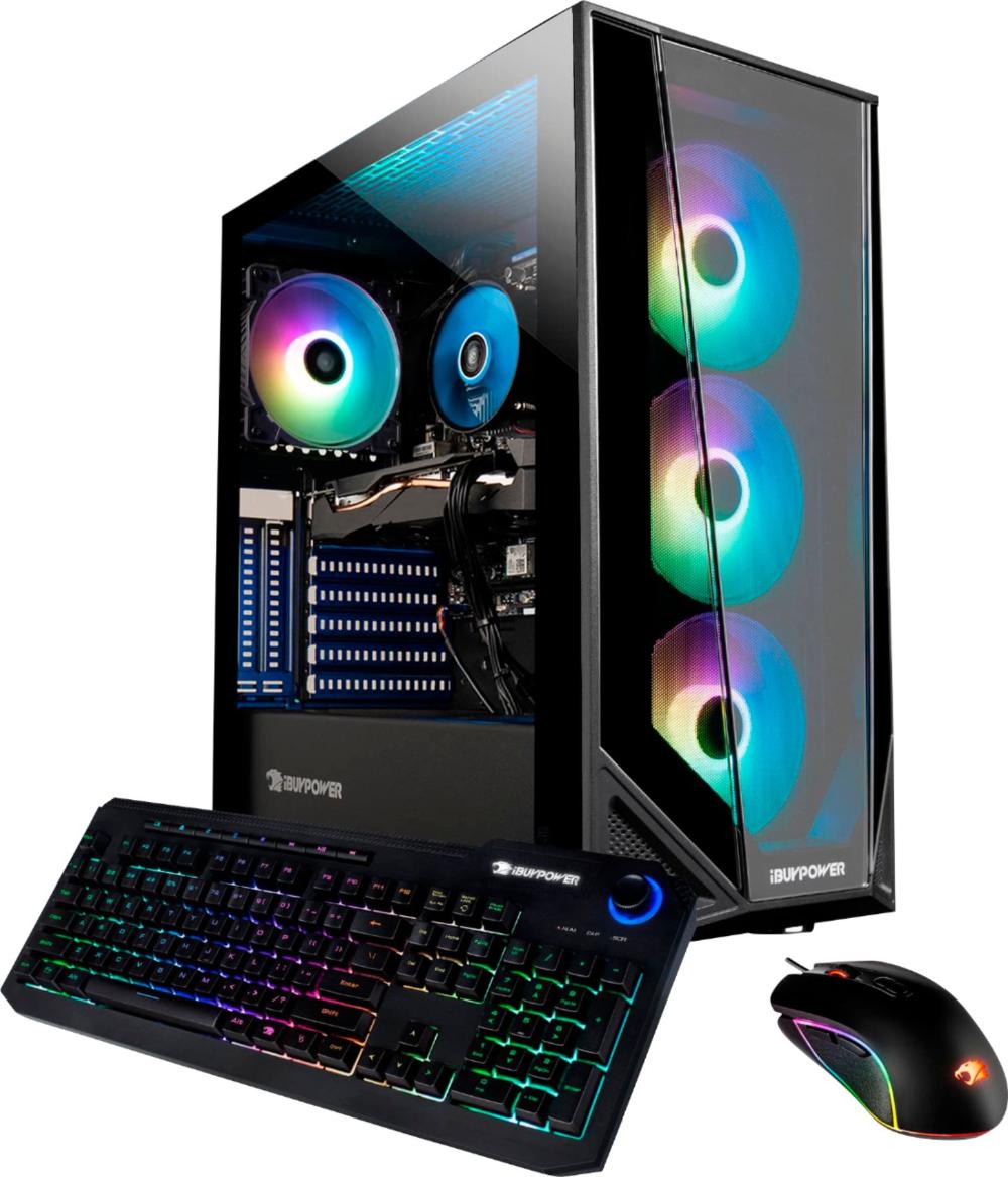 Ibuypower Trace Mr Gaming Desktop Intel I7 10700f 16gb Memory Nvidia Geforce Gtx 1660 Super 6gb 480gb Ssd 1tb Hdd Bb990 Best Buy Gaming Desktop Intel Hdd