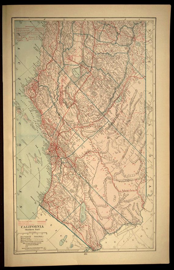 Map Southern California Road Map South Los Angeles San Diego | Map ...