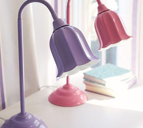 Girls Childrens Bedside Lamp