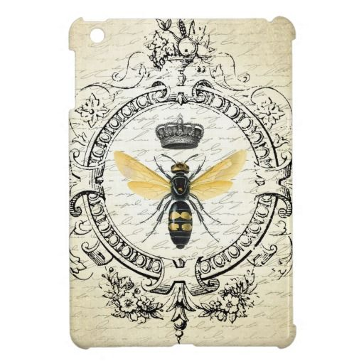 ==> consumer reviews          MODERN VINTAGE french queen bee Case For The iPad Mini           MODERN VINTAGE french queen bee Case For The iPad Mini so please read the important details before your purchasing anyway here is the best buyDiscount Deals          MODERN VINTAGE french queen be...Cleck Hot Deals >>> http://www.zazzle.com/modern_vintage_french_queen_bee_ipad_mini_case-256172633190957408?rf=238627982471231924&zbar=1&tc=terrest