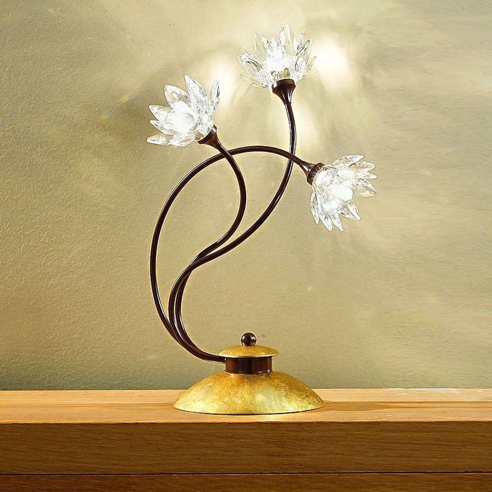 Tischleuchte Fiorella Klar Tischleuchte Lampen Und Tischlampen