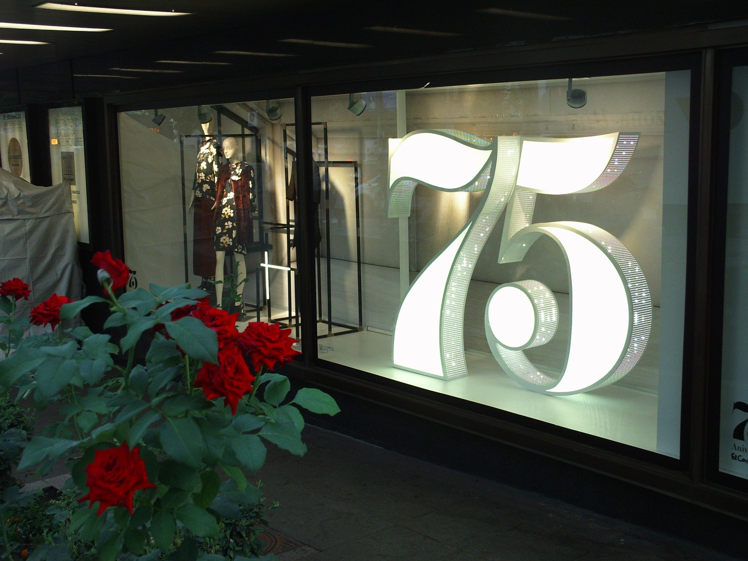 75 aniversario del Corte Inglés.