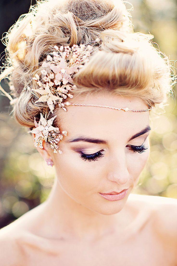 Wedding hair with flowers u jewels spring wedding themes spring