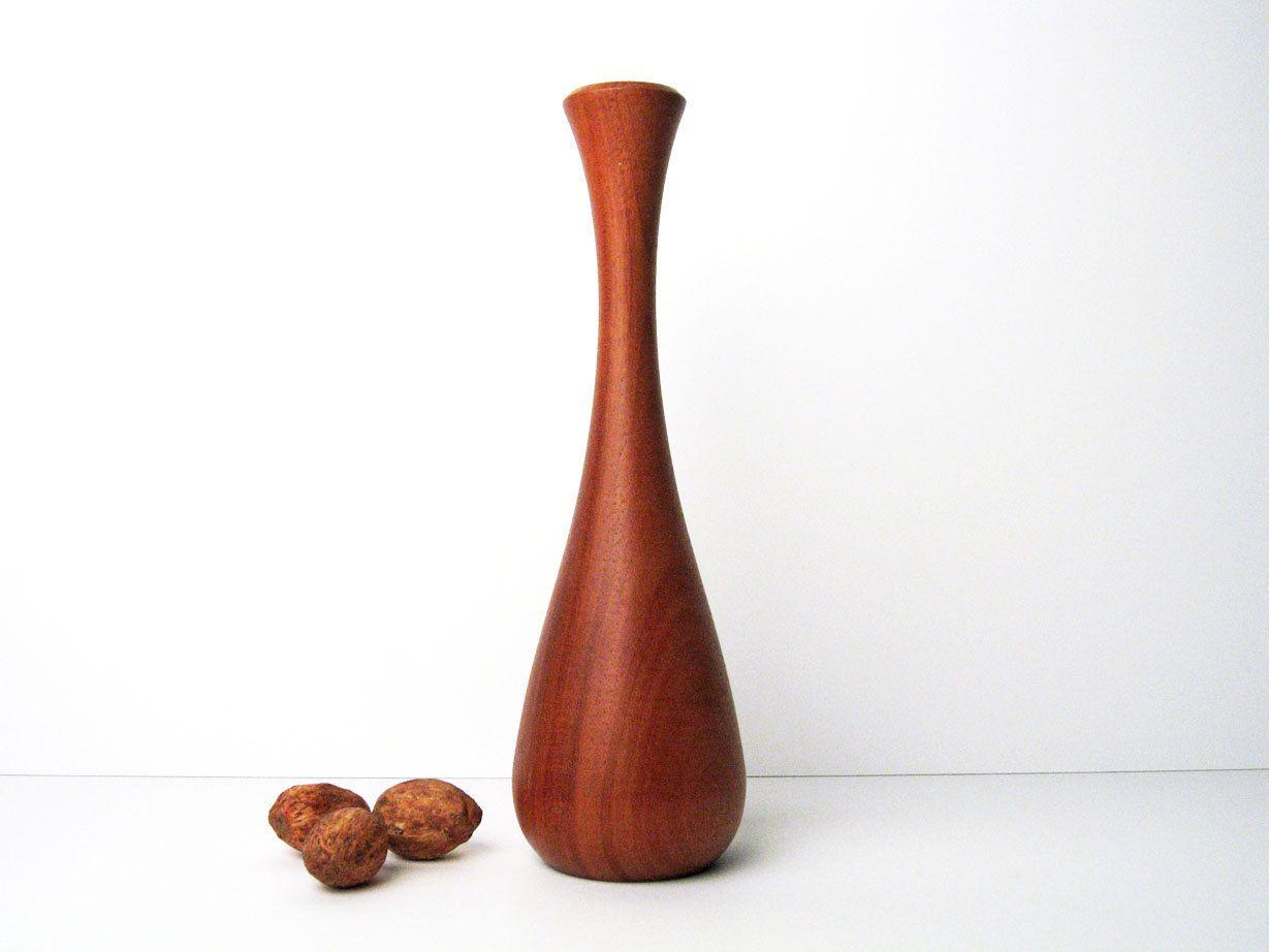 Teak vase turned wood bowls vessels platters pinterest teak vase wood vaseturned reviewsmspy