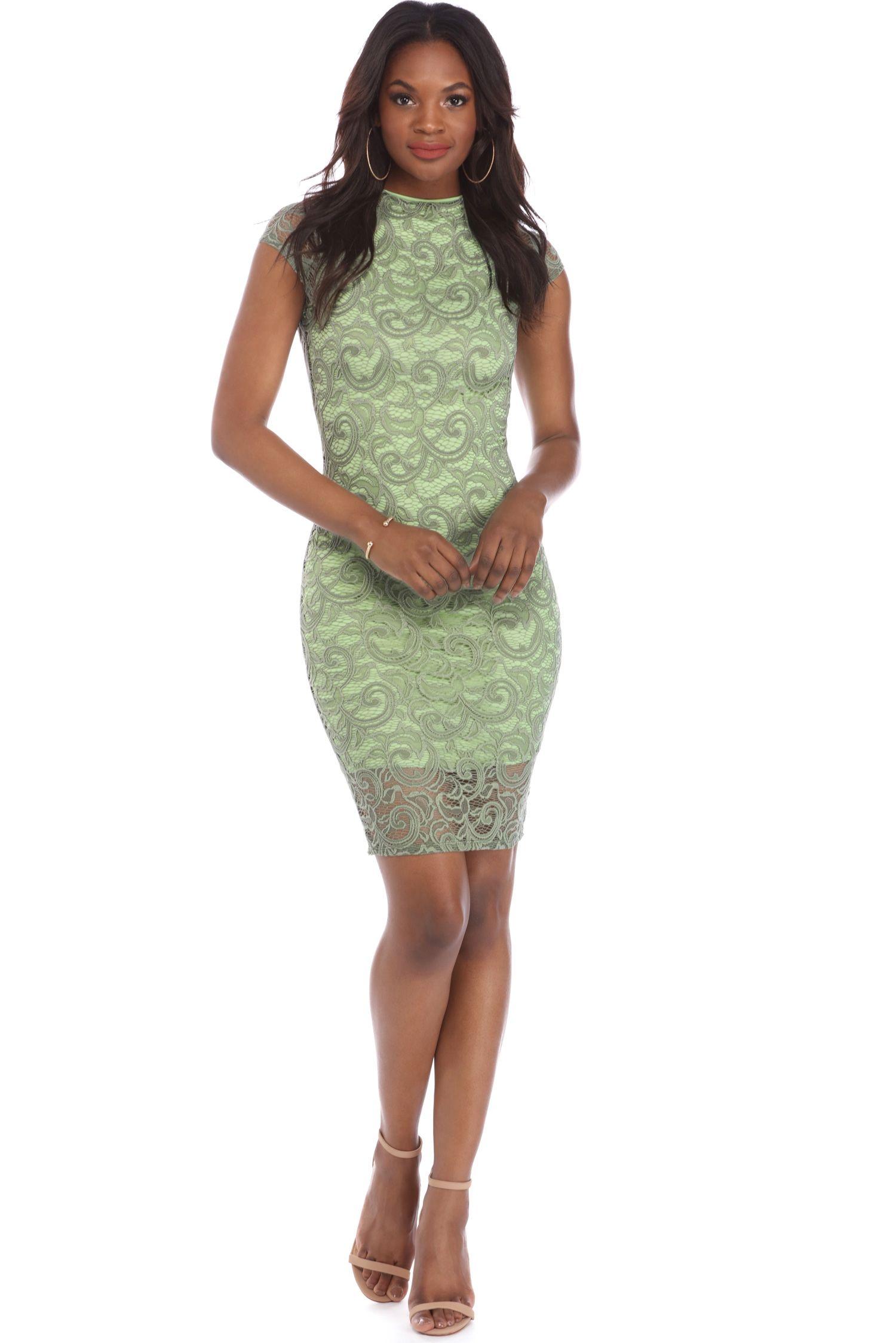 Sage Lady Like Lace Dress | windsor | Mama Bear | Pinterest | Lace ...