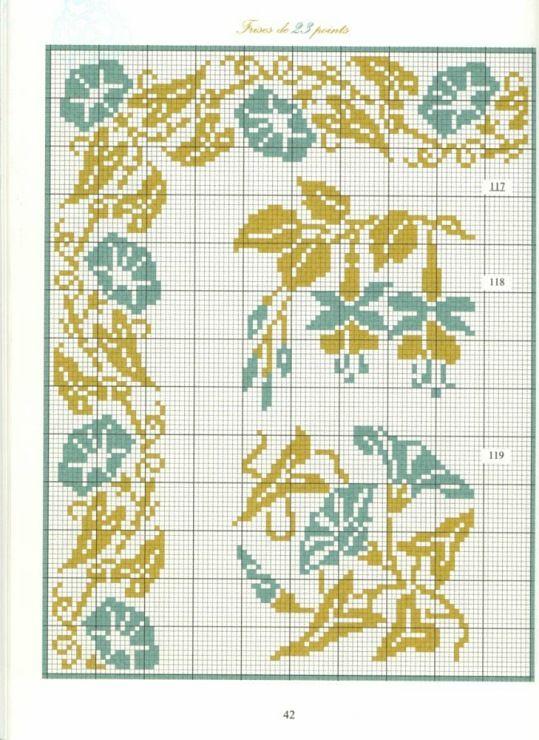 Gallery.ru / Фото #39 - Bordures et Frises Fleuries - Mongia