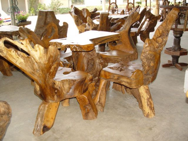 Rustic Teak Provincial Teak Amp Teak Root Furniture From Thailand Furniture Rustic Teak